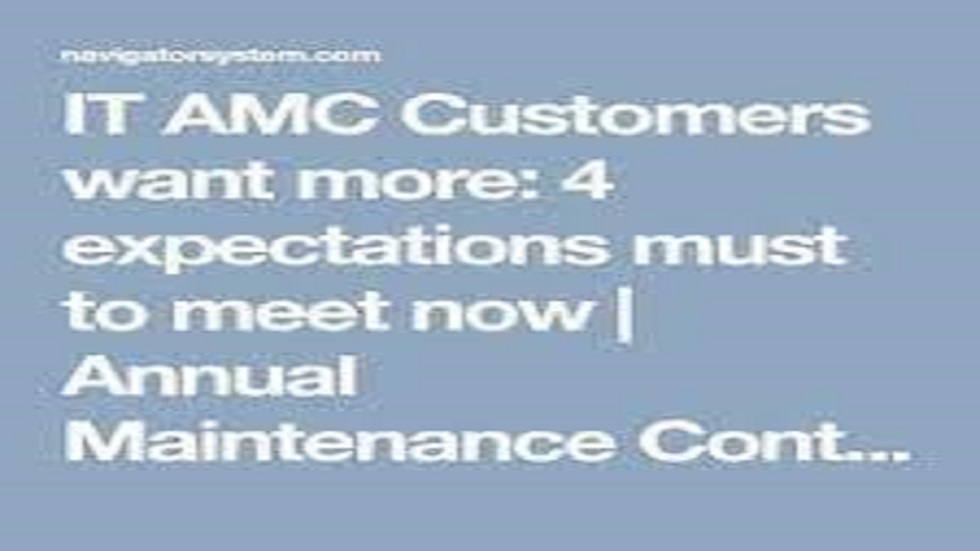 IT AMC Customers want more: 4 expectations must to meet now