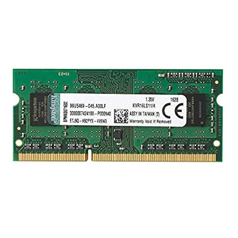 4GB (1x4G) 1600Mhz Single Ranked x4 Data Width UDIMM Low Volt Kit for sale